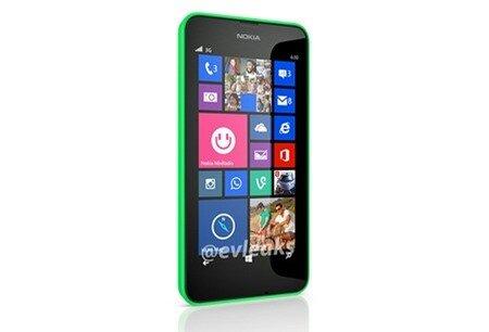 Hình ảnh chính thức Lumia 630 bị rò rỉ hồi cuối tháng 2