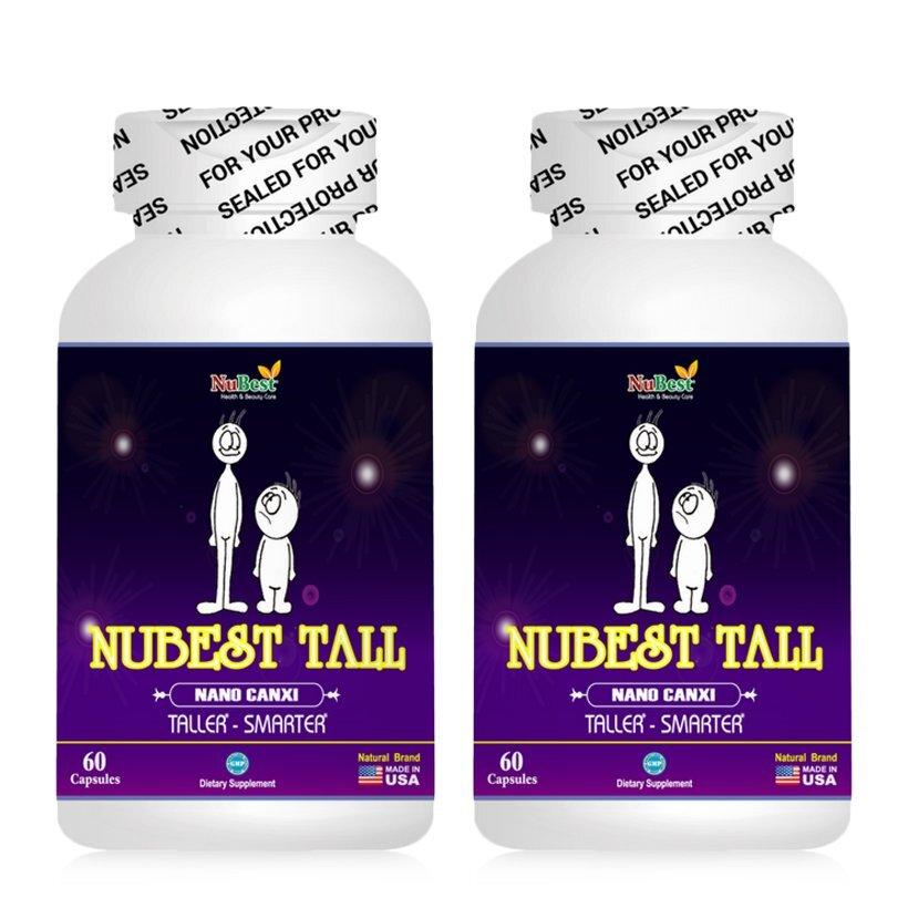 Viên uống Nubest Tall giúp xương chắc khỏe và tăng chiều cao