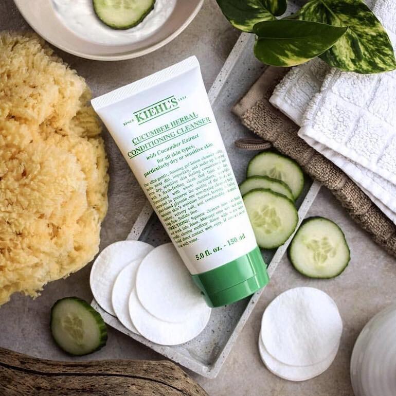 Sữa Rửa Mặt Kiehl's Cucumber Herbal Conditioning Cleanser