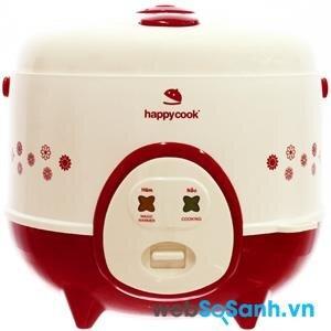 Happycook thường tập trung vào dòng sản phẩm nồi cơm điện mini