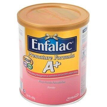 Sữa bột Enfalac Premature Formula A+ - hộp 400g (dành cho trẻ thiếu tháng, nhẹ cân)