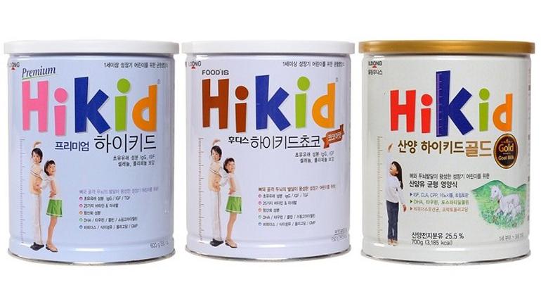 Sữa Hikid tăng chiều cao vượt trội