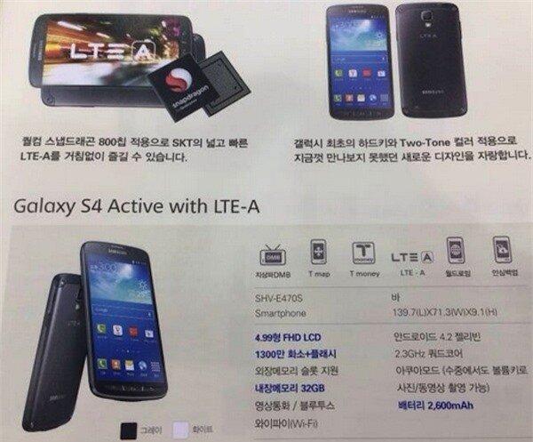Samsung Galaxy S4 Active LTE -A