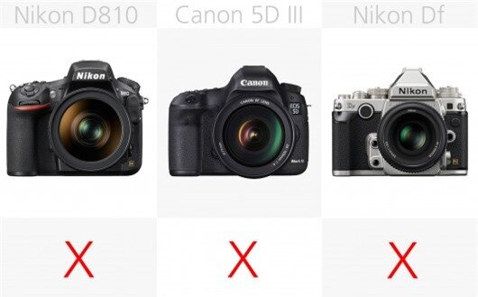 The higher-end full frame DSLRs need adapters to gain wireless capabilities