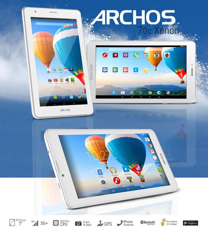 Máy tính bảng Archos tốt nhất hiện nay