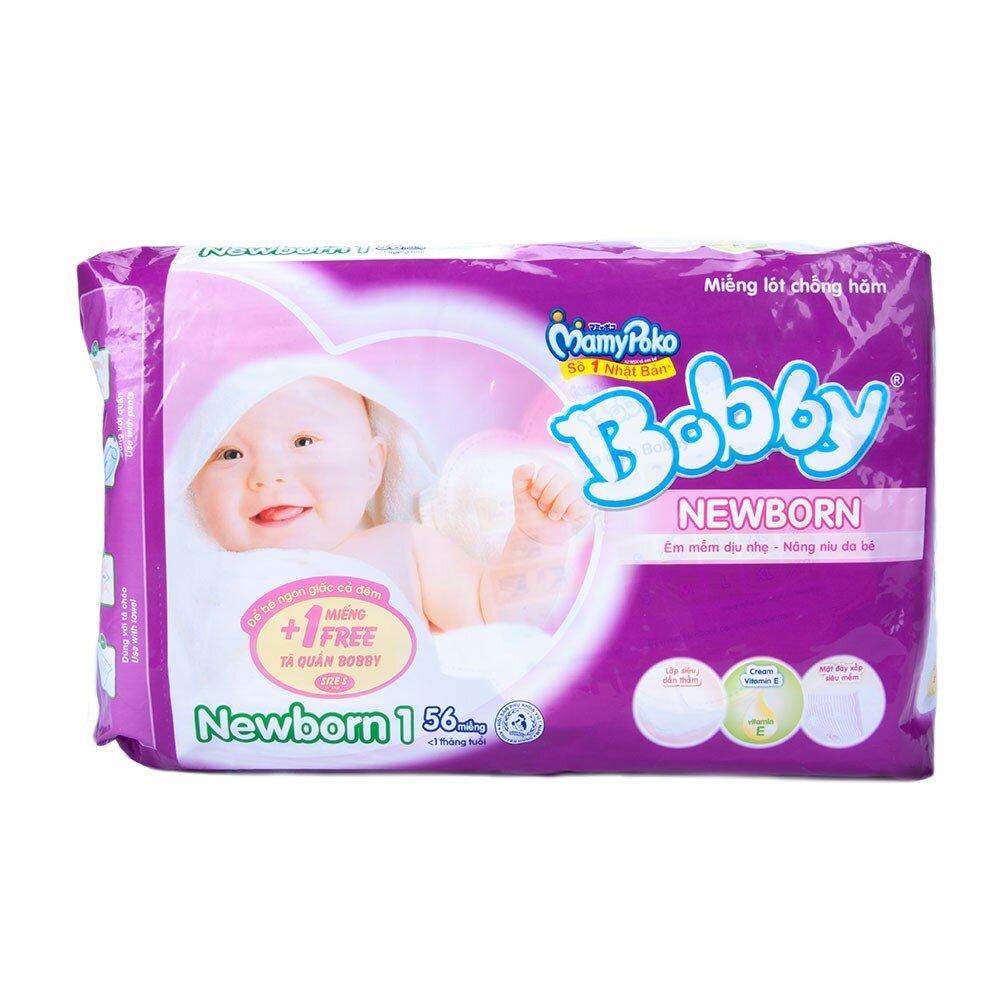 Miếng lót Bobby Fresh Newborn 1 (dưới 5kg)