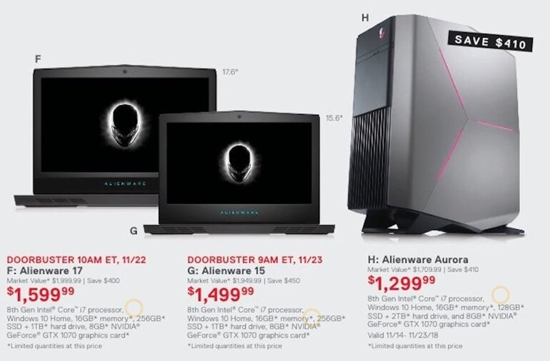 deal alienware black friday