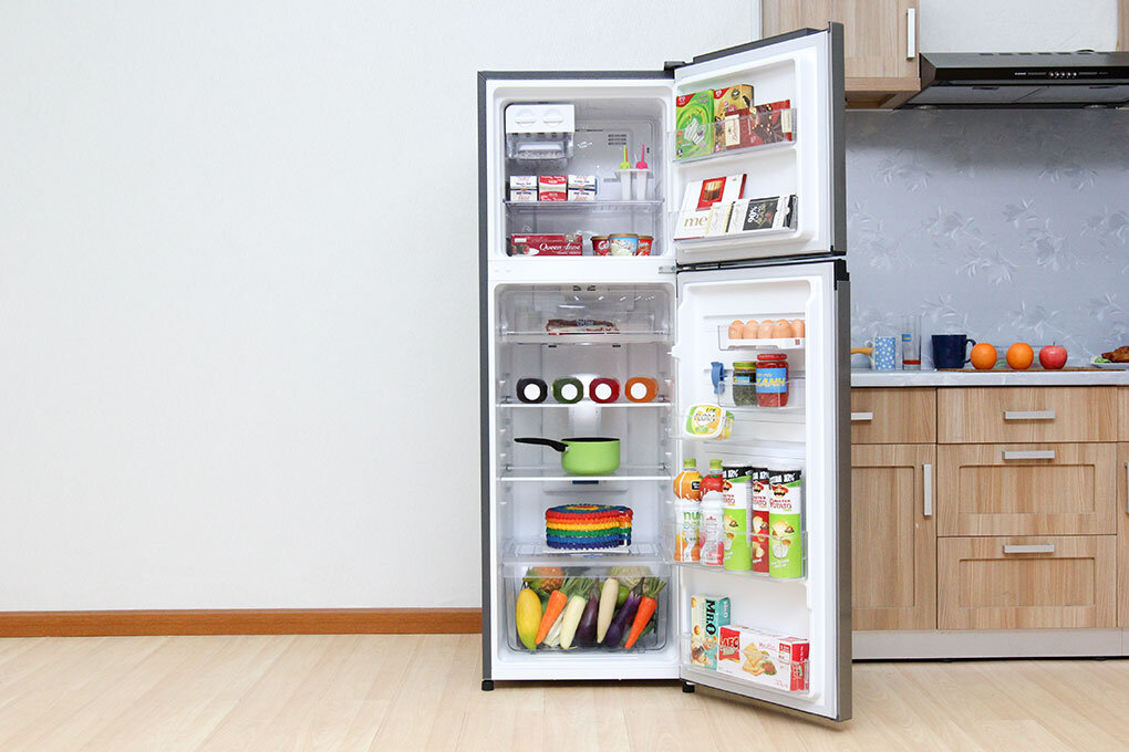 Tủ lạnh Electrolux ETB2600MG nhiều ngăn chứa đồ có thể tháo lắp