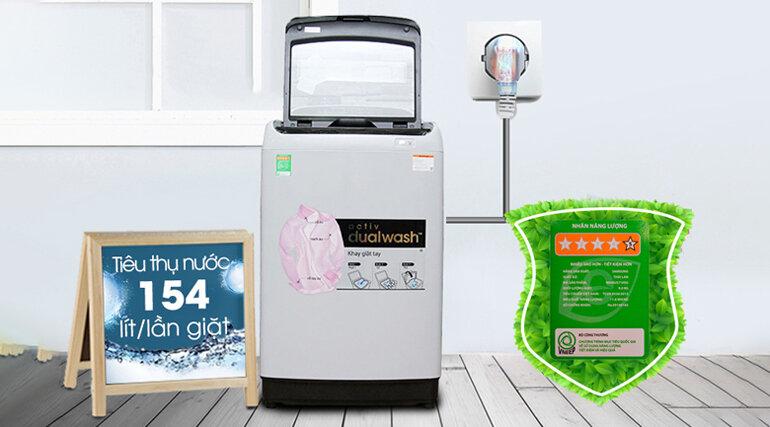 Máy giặt Samsung 9kg WA90J5710SG/SV