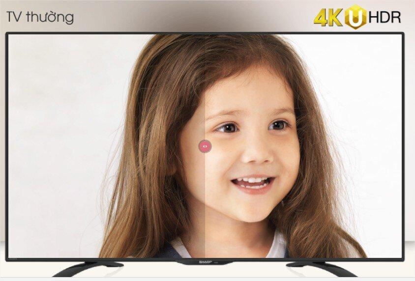 Công nghệ 4K UHDR mang lại trải nghiệm hình ảnh sống động