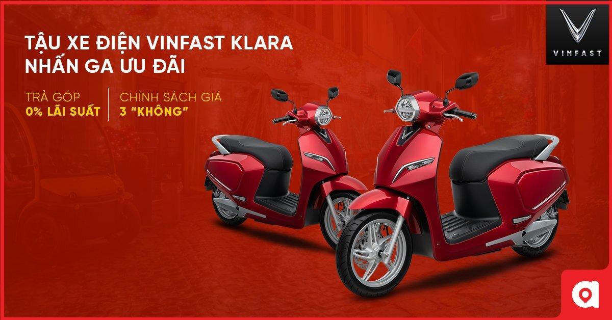 Màu xe máy điện Vinfast đỏ hợp mệnh hỏa