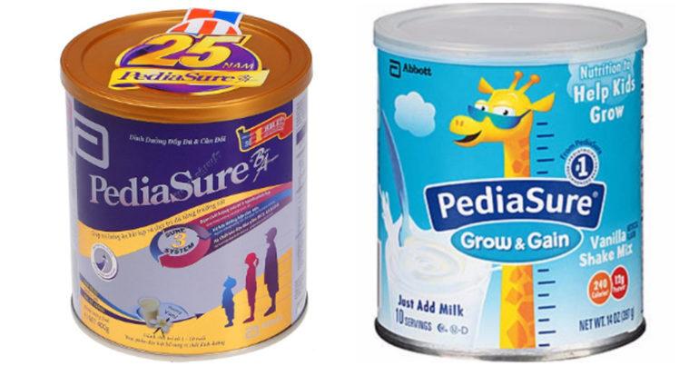 Sữa Pediasure 400g có tốt không ? Có mấy vị ? Giá bao nhiêu tiền ?