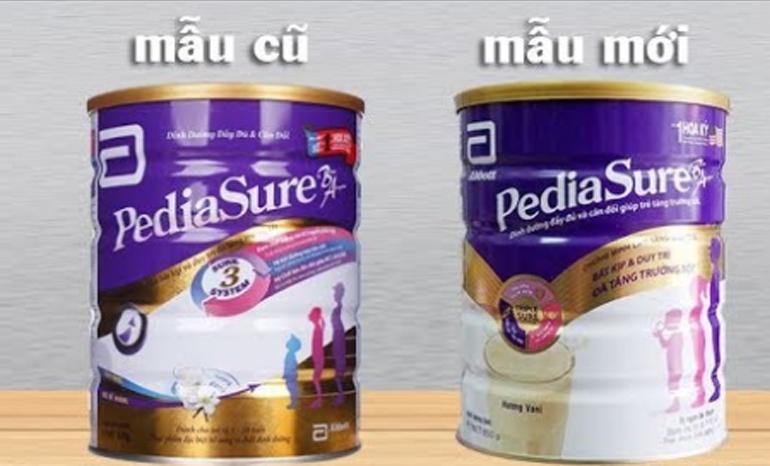 Cách phân biệt sữa Pediasure giả và Pediasure thật