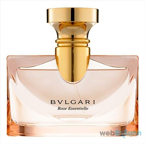 Nước hoa Bvlgari Rose Essentielle Eau de parfum có thiết kế đơn giản nhưng sang trọng, quý phái