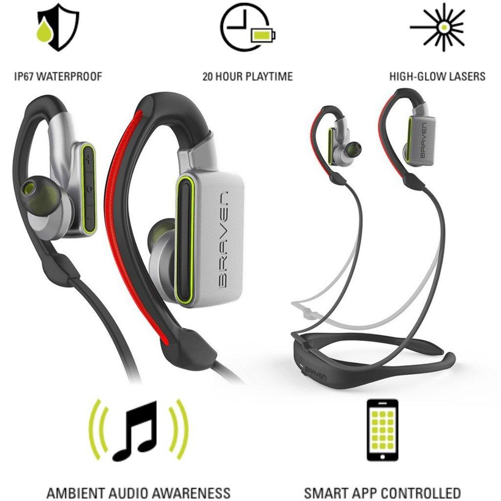 Tai nghe thể thao không dây Bluetooth Braven Flye Sport