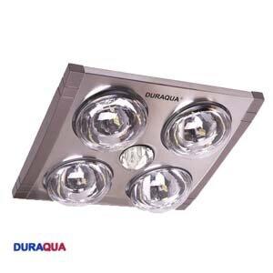 Đèn sưởi nhà tắm Duraqua DQ4N - 4 bóng