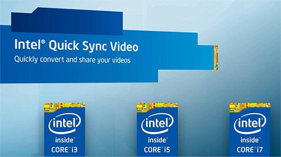 Intel Quick sync Video