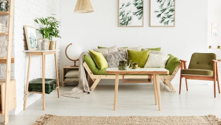 bàn ghế phòng khách nhỏ xinh