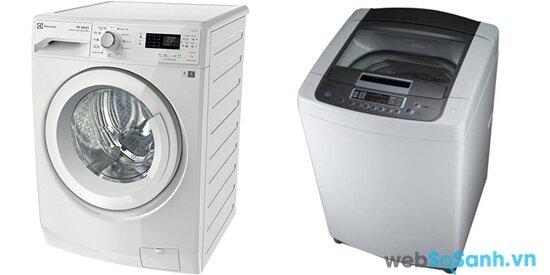 Electrolux EWF85742 và LG WFD1417DDD (nguồn: internet)