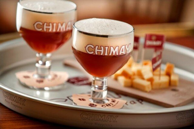 cách uống bia chimay