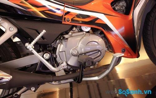 Động cơ 110cc trên Honda Blade