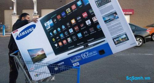 Smart TV Samsung bị nghi theo dõi người dùng.
