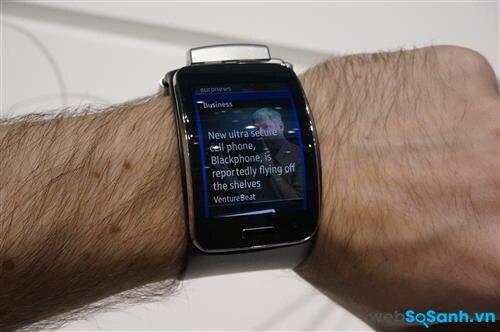 Phần mềm trên Samsung Gear S. Nguồn Internet