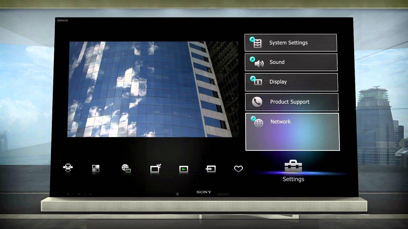 TV Internet Sony có màn hình sắc nét vượt trội