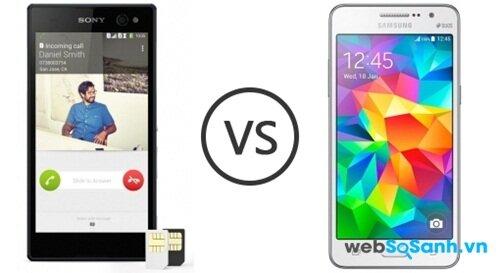 Hai mẫu điện thoại sử dụng phong cách thiết kế hoàn toàn khác nhau