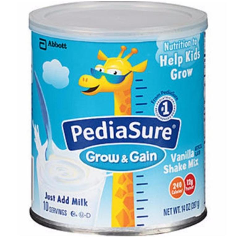 Sữa bột Pediasure Grow & Gain còn có tên gọi là sữa Pediasure Mỹ