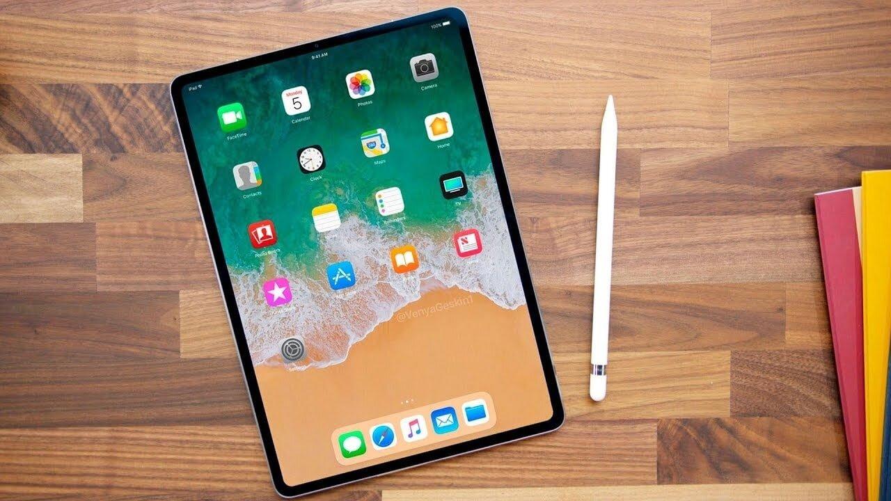 iPad Pro 2018 với thiết kế siêu mỏng