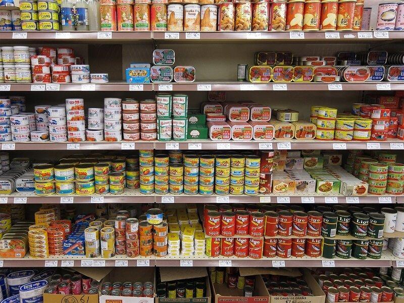 Tác hại của các thực phẩm đóng hộp