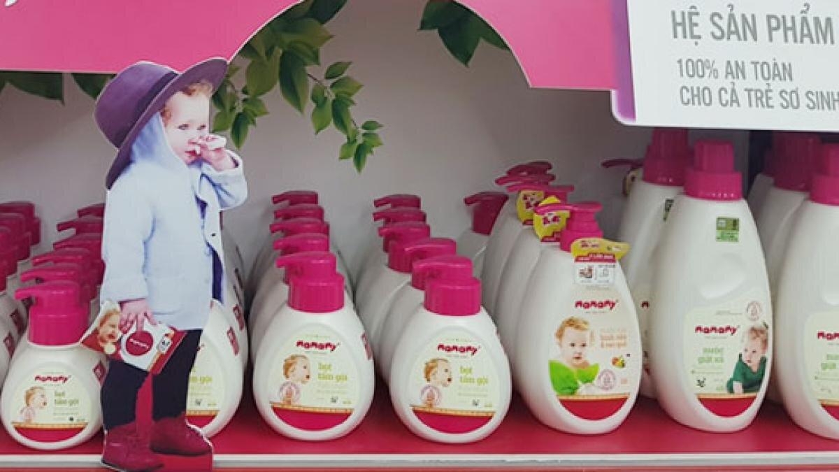 Sản phẩm có hương nhẹ, không sử dụng hóa chất