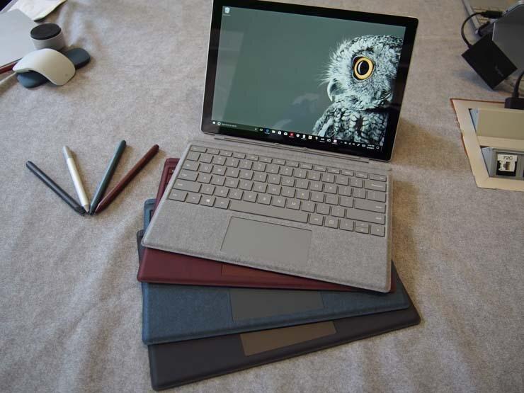 Bàn phím Surface Pro 5 tính thẩm mỹ cao