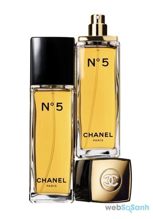 Chai nước hoa nữ Chanel No.5 Eau de toilette mang phong cách cổ điển, quý tộc, đầy sang trọng
