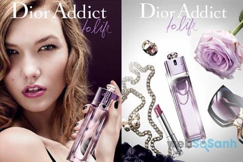 Chai nước hoa nữ Dior Addict To Life mang vẻ đẹp long lanh, lung linh đầy lôi cuốn