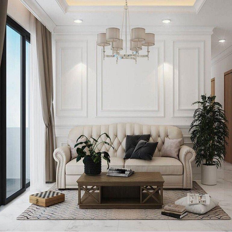sự sang trọng của nội thất tân cổ điển