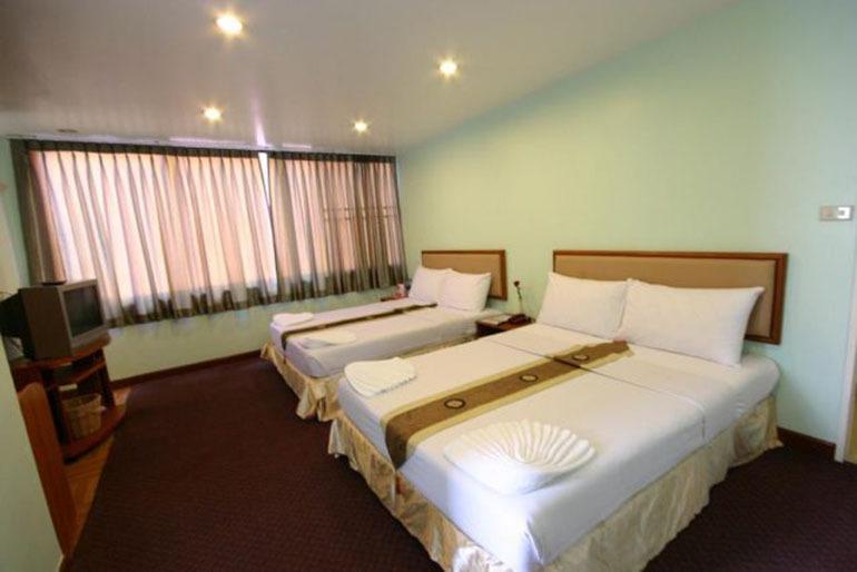 Căn phòng sạch sẽ, gọn gàng của Siam Star Hotel (Nguồn: Internet)