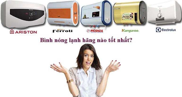 Tư vấn chọn mua bình nóng lạnh phù hợp với số người sử dụng trong gia đình