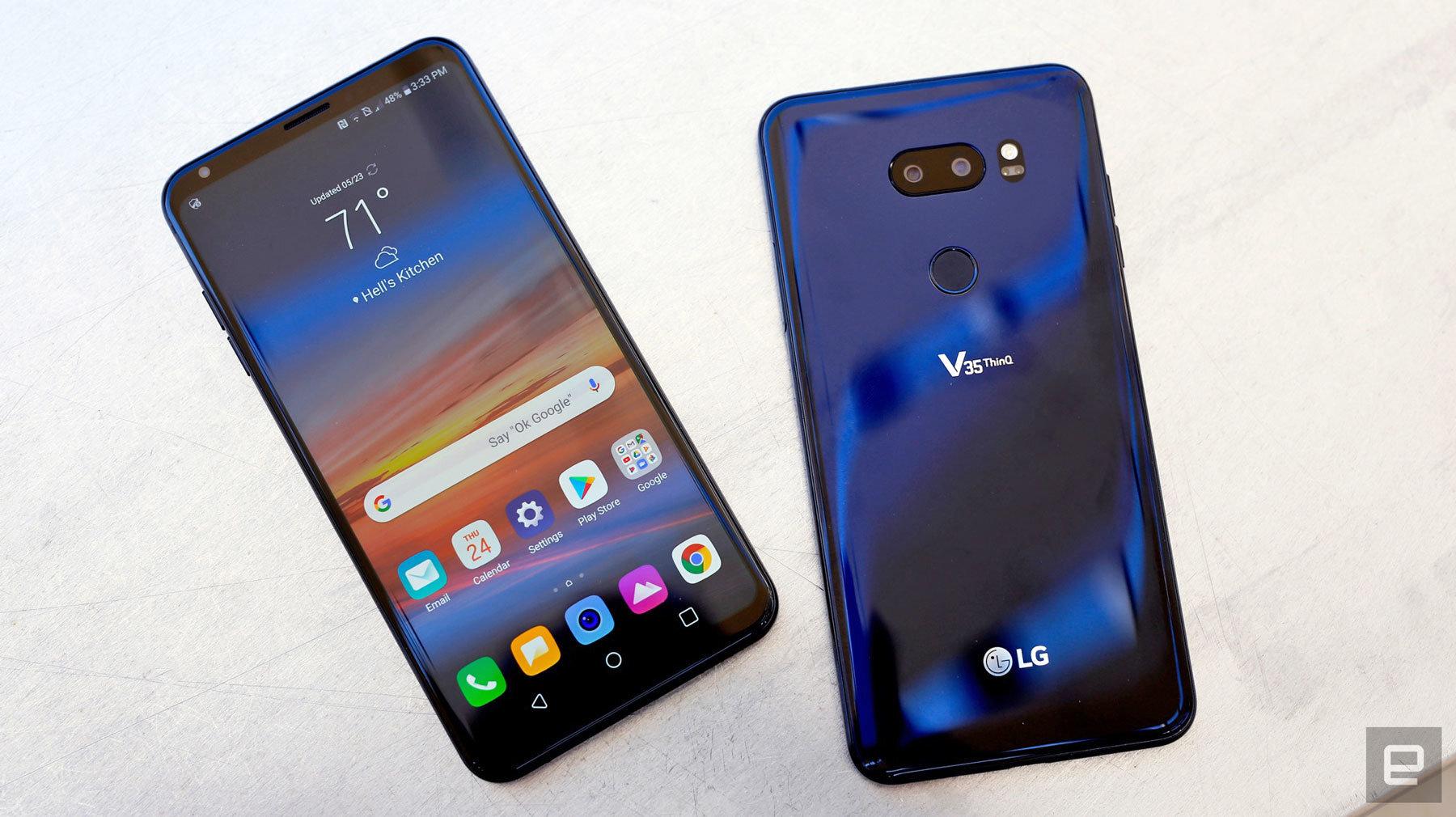 LG V35 ThinQ đem công nghệ sạc nhanh vào trong sản phẩm, giúp bạn nạp đầy năng lượng cho điện thoại chỉ sau 100 phút ngắn ngủi