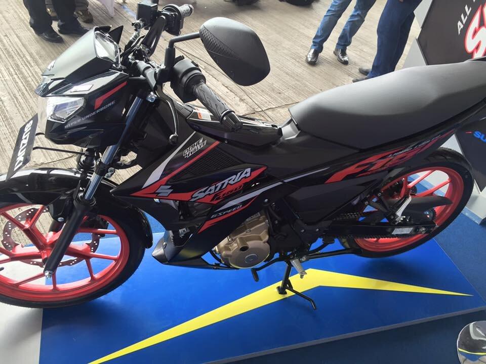 Suzuki Satria F150 2019 ra mắt thị trường Việt