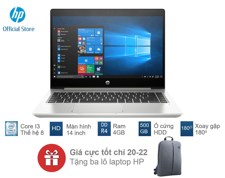 Laptop HP Probook 440 G6 5YM63PA có thiết kế khá mỏng
