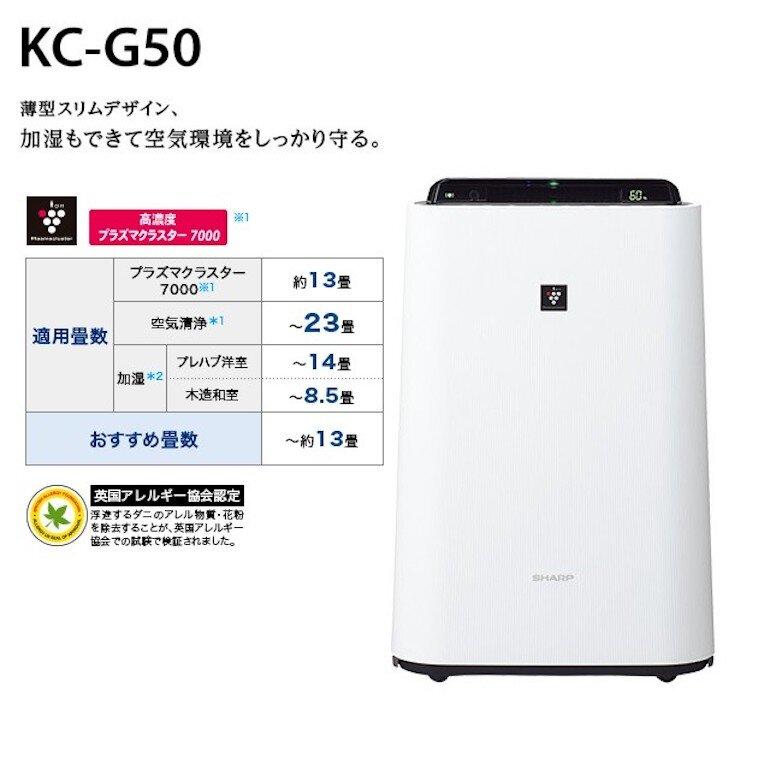 Những tính năng nổi bật đến từ máy lọc không khí Sharp KC-G50