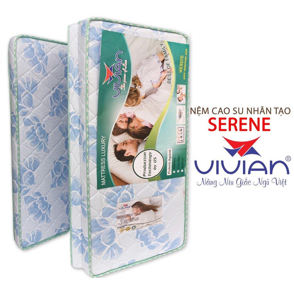 Nệm cao su nhân tạo Vivian Serene 3 tấm