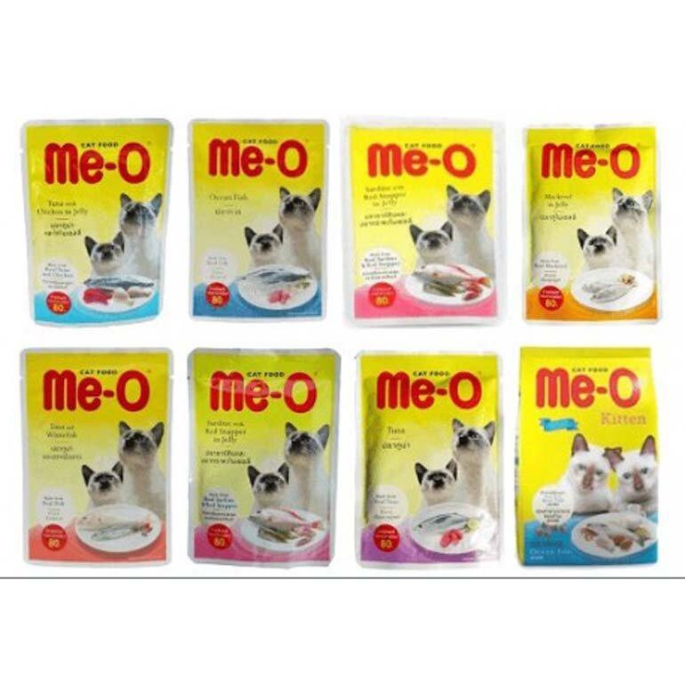 thức ăn ướt cho mèo Me-O