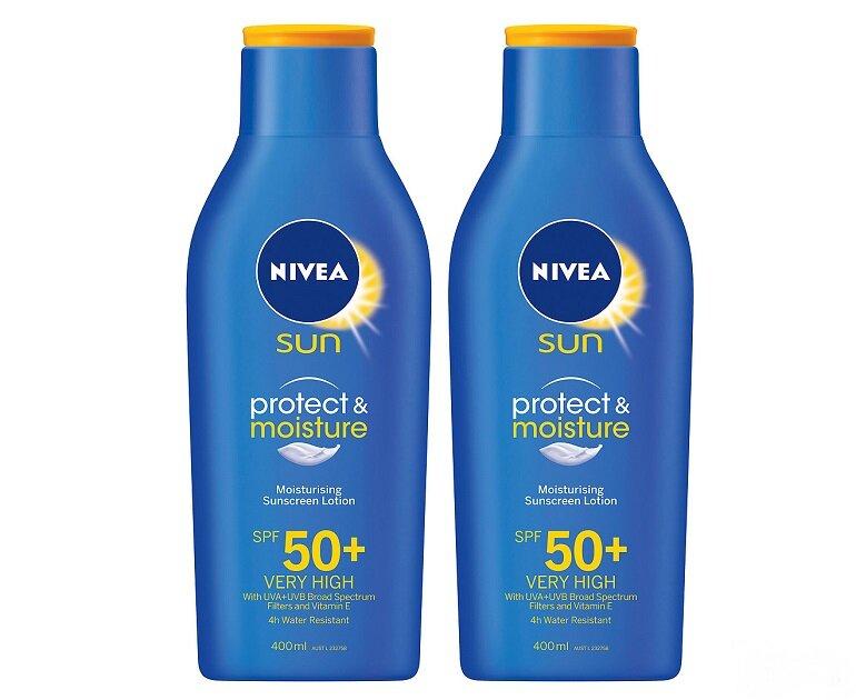 Kem chống nắng Nivea Protect & Moisture