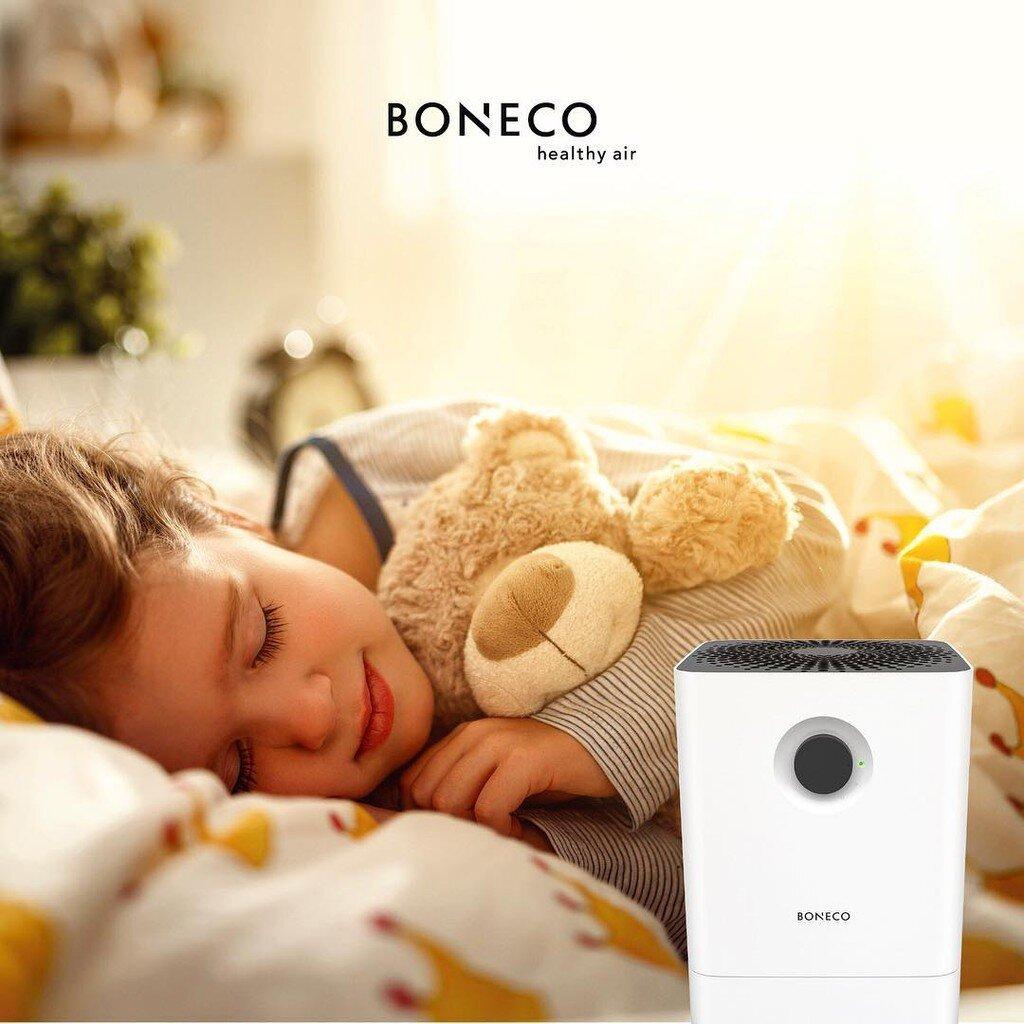 Máy lọc Boneco thanh lọc không khí trong lành, an toàn cho sức khỏe