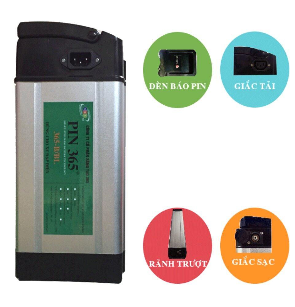 Pin Lithium Xe Đạp Điện 48V 12Ah LiBa.