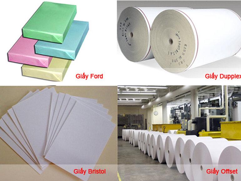 Mỗi một loại giấy in phù hợp cho những nhu cầu sử dụng khác nhau của người dùng