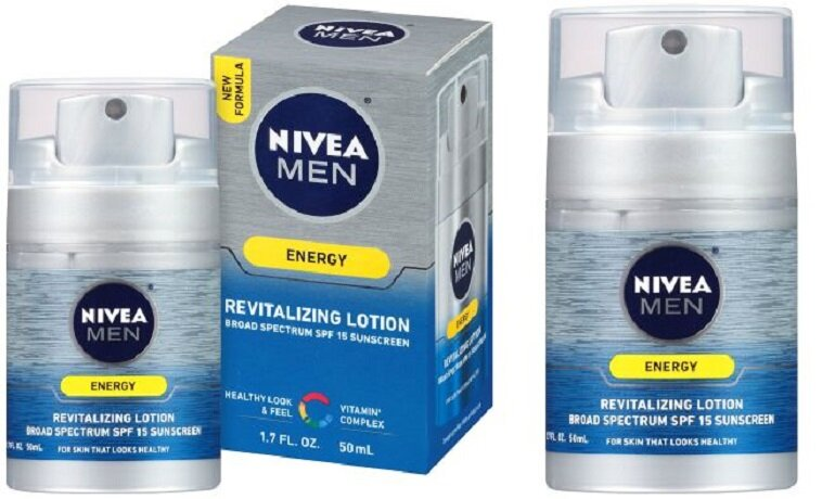 Kem chống nắng cho nam NIVEA Men Energy Lotion
